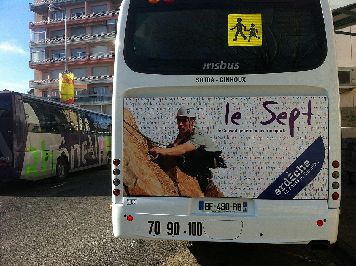 """Réseau de transport """"le Sept"""""""