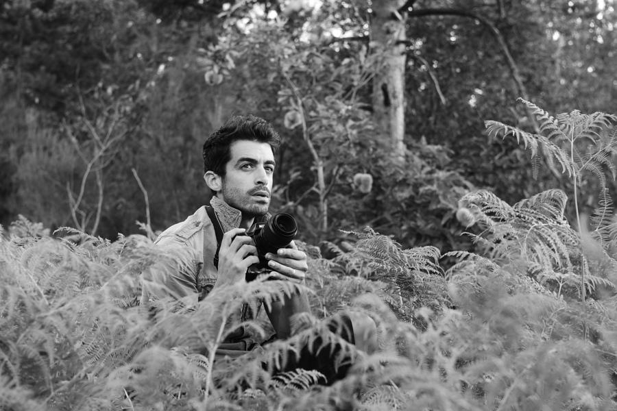 Portrait du photographe Matthieu Dupont