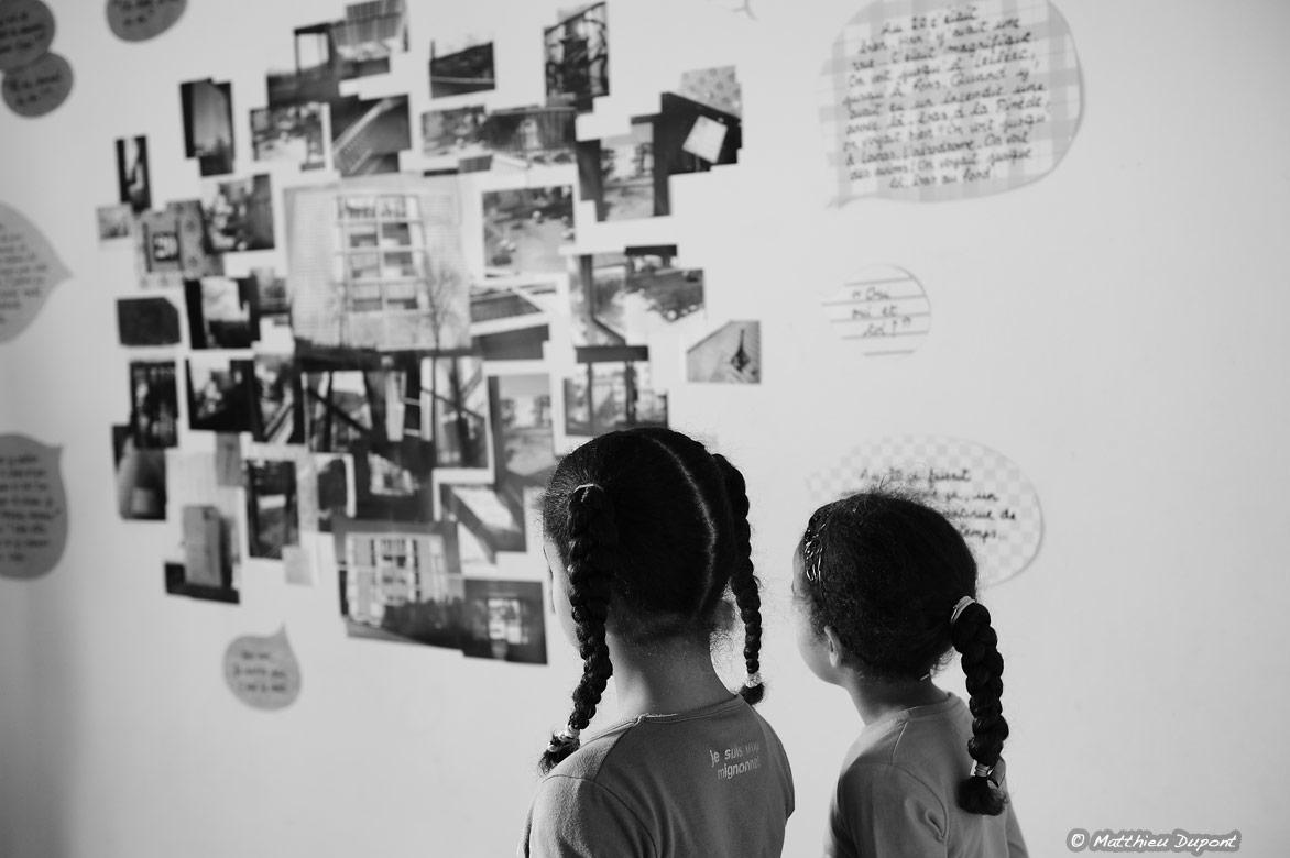 Souvenirs aux murs