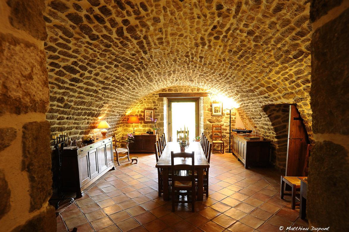 Photo du gîte La Grange à Prades en Ardèche