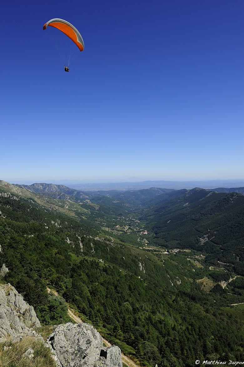 Parapente en Ardèche