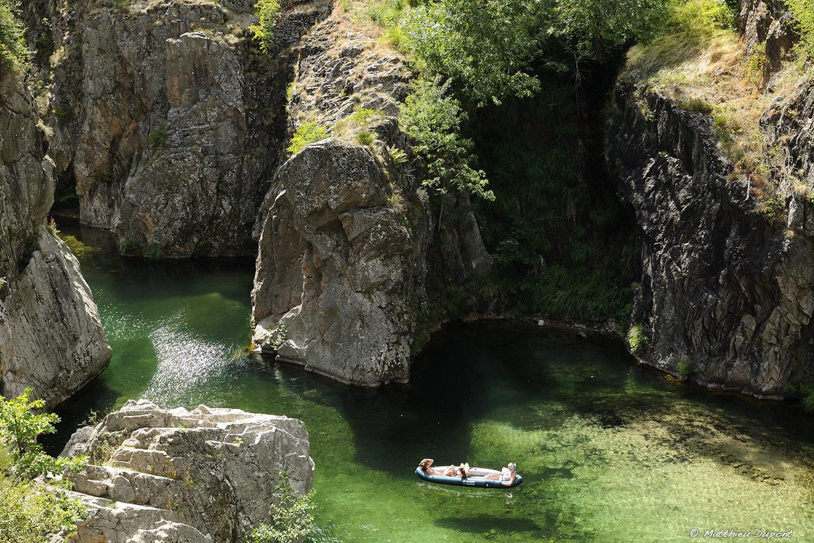 L' Ardèche au Pont du Diable