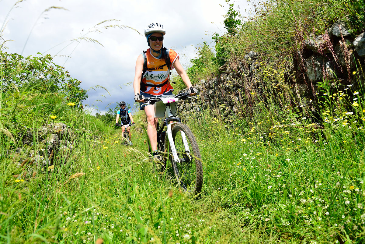 Raid O Féminin 2016 (Ardèche) - Sur le parcours VTT