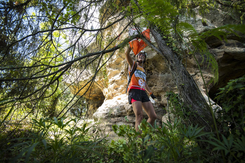 Raid O Féminin 2019, course d'orientation à Sanilhac (Ardèche).
